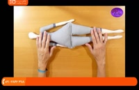دوخت عروسک تیلدا - آموزش دوخت عروسک تیلدا(پارت سوم)