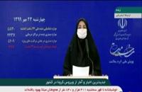 جدیدترین آمار کرونا در ایران - 23 مهر 99