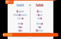 آموزش زبان ترکی - آموزش الفبا به همراه تلفظ حروف