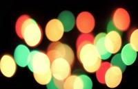 ویدیو فوتیج بوکه های رنگارنگ 18