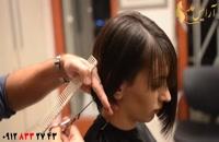 آموزش کوتاه کردن مو مدل قارچی + هیرکات اسپرت مو