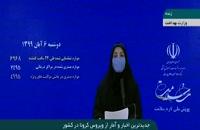جدیدترین آمار کرونا در ایران - 6 آبان 99
