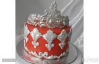 طرز تهیه کیک روز مادر یک کیک لاکچری