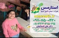 میزان یادگیری ریاضی کودک  در استان البرز