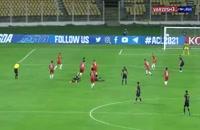 خلاصه مسابقه فوتبال الوحده امارات 0 - گوآ هند 0