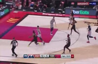 خلاصه بازی بسکتبال تورنتو رپترز - واشینگتن ویزاردز