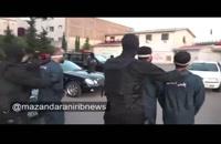 دستگیری ارازل و اوباش در آمل (ماجرای فضای مجازی)