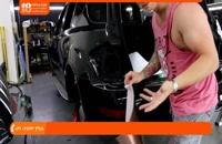 آموزش کاور خودرو - نصب کاور در برآمدگی ها و چگونگی تطبیق دوکاور در کنارهم
