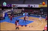 خلاصه بازی بسکتبال شیمیدر قم - شهرداری گرگان