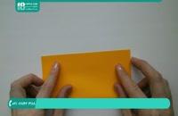 ترفند های جالب برای ساخت اوریگامی آفتاب گردون