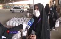 توزیع ده هزار پرس غذا و بسته معیشتی در بین نیازمندان