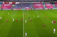خلاصه بازی فوتبال صربستان 2 - نروژ 1