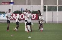 تمرینات تیم یوونتوس برای فصل 2021/22