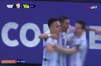 گل آرژانتین به برزیل - دیماریا
