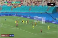 خلاصه بازی اسپانیا - سوئد