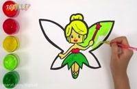 آموزش نقاشی به کودکان این قسمت نقاشی پرنسس پروانه ای