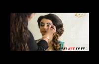 فیلم آموزش آرایش عروس + میکاپ چشم به سبک هندی
