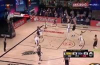 پنج حرکت برتر شب گذشته بسکتبال NBA