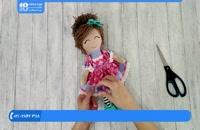 آموزش عروسک پولیشی - آموزش دوخت عروسک دختر