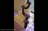 لذت آشپزی -تزیین کیک - کیک تولد