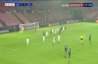 خلاصه بازی فوتبال میتیلند 0 - آتالانتا 4