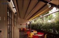 پوشش متحرک رستوران - پوشش متحرک حیاط  رستوران - پوشش جمعشو رستوران 02126207536