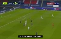 خلاصه بازی فوتبال پاری سن ژرمن 0 - لیون 1
