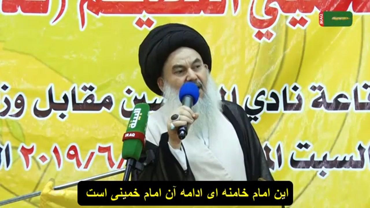 آیت الله سیدیاسین موسوی : ما در عصر پیروزی ها هستیم و هیچ نیرویی جلودارمان نیست.