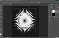 آموزش رسم گل با Rotate در فتوشاپ