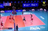خلاصه بازی والیبال لهستان - امریکا