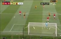 خلاصه بازی منچستر یونایتد 3 - واتفورد 0