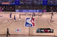 خلاصه بازی بسکتبال لس آنجلس کلیپرز - دنور ناگتس
