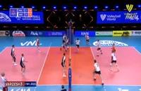 خلاصه بازی والیبال لهستان - هلند