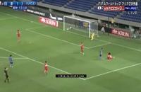 مسابقه فوتبال ژاپن - تاجیکستان