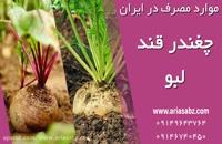 پیرامین علف کش قوی برای دفع علف های هرز مزرعه لبو و چغندر | Pyramin