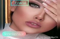 خرید بهترین لنز چشم رنگی و طبی رنگی عسلی طلایی لنا هیزل از فروشگاه اینترنتی لنز چشم ایران لنز