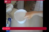 آموزش ساخت صابون - آموزش ساخت صابون حمام به شکل کاپ کیک