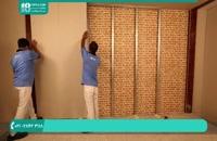 کناف کاری _ نحوه نصب قاب فلزی بر روی دیوار