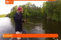 آموزش ماهیگیری | ماهیگیری با قلاب دست ( طعمه پایه در صید خارماهی )