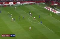 خلاصه بازی لهستان - انگلیس