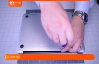 آموزش تعمیر مک بوک  | تعویض اسپیکر مک بوک ایر 13 اینچ