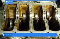تعمیر موتور تویوتا - نصب میل لنگ بستن قطعات موتور