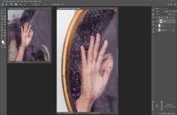 آموزش کوتاه رایگان ایجاد تصویر درون آینه در فتوشاپ//www.l24.ir