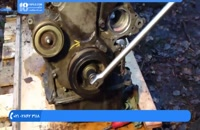 آموزش تعمیر موتور تویوتا - میل بادامک بازکردن موتور