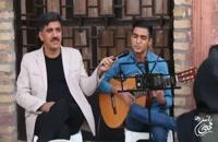 اجرای گیتار راتین رها در کتابخانه فرهنگ عامه کرمان