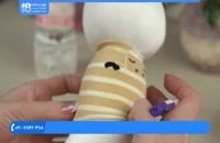 عروسک جورابی - آموزش عروسک پسر مدل شماره 2