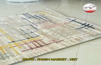 فرش طرح الوان ترک وينتيج گلبرجسته کد 6061 - فرش مارکت - خريد اينترنتي فرش کاشان