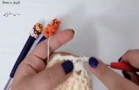 آموزش بافت دستکش با قلاب دخترانه