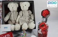 کادو آماده ولنتاین با عروسک خرس زوج