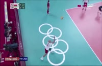 خلاصه بازی والیبال لهستان - ایران